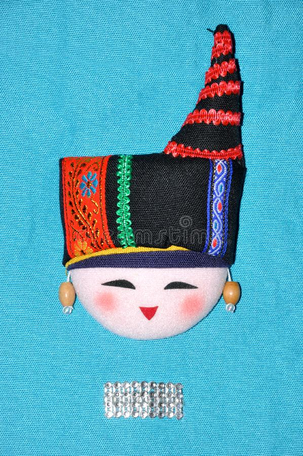 Ricamo del Finery di stile cinese di minoranza