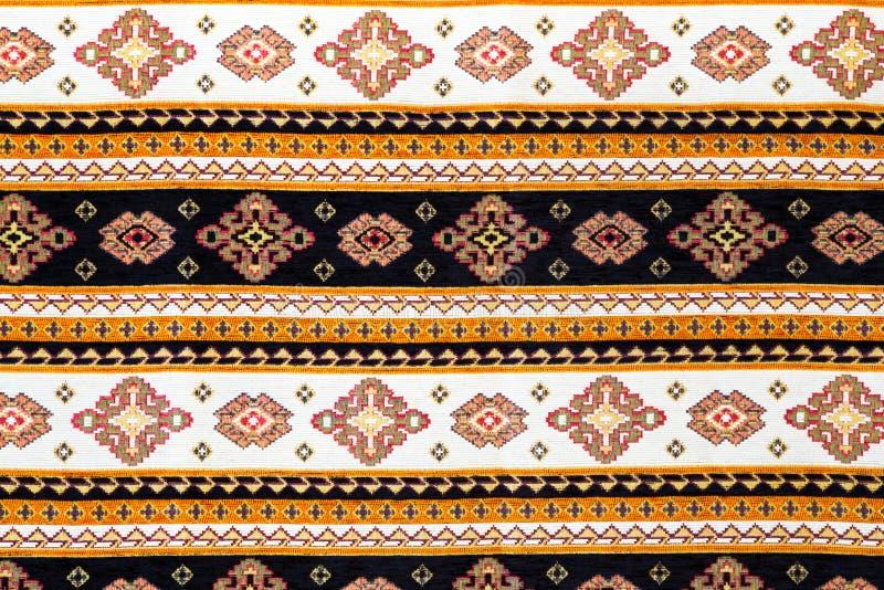 Ricamo senza cuciture bulgaro tradizionale fotografie stock libere da diritti