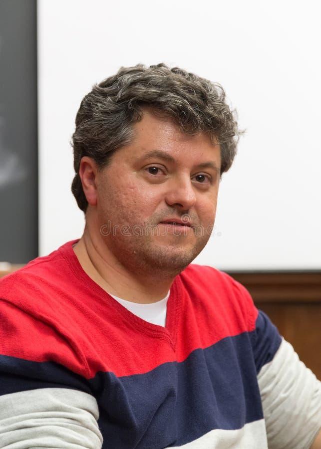 Ricardo LÃsias, Brazylijski pisarz obraz stock