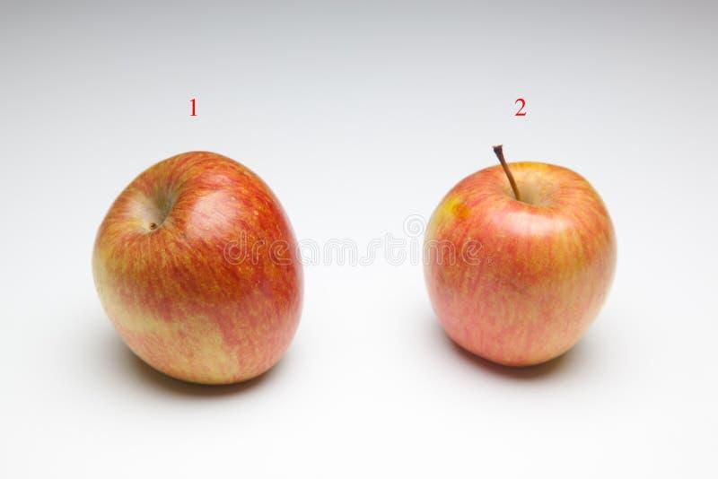 Ricchi di Apple in sapore e vitamine fotografie stock