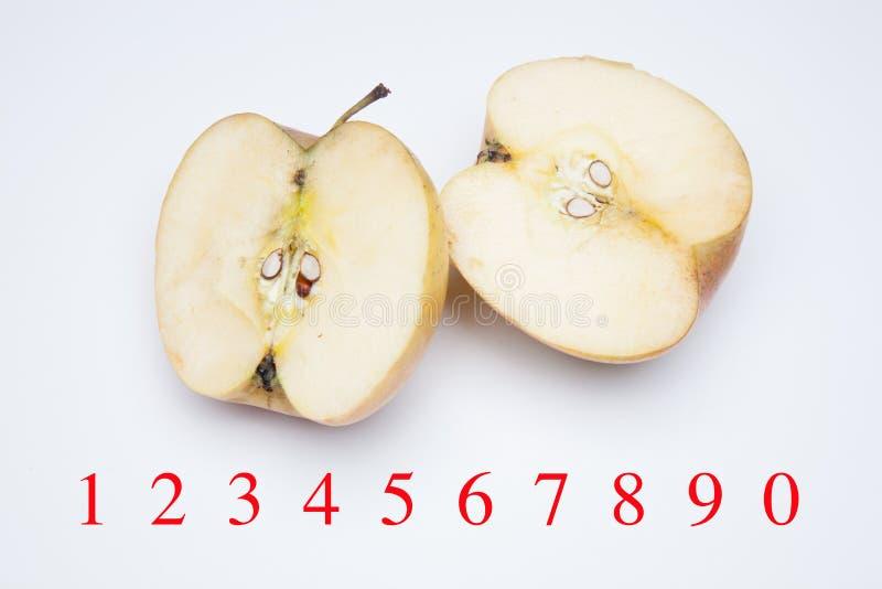 Ricchi di Apple in sapore e vitamine immagine stock