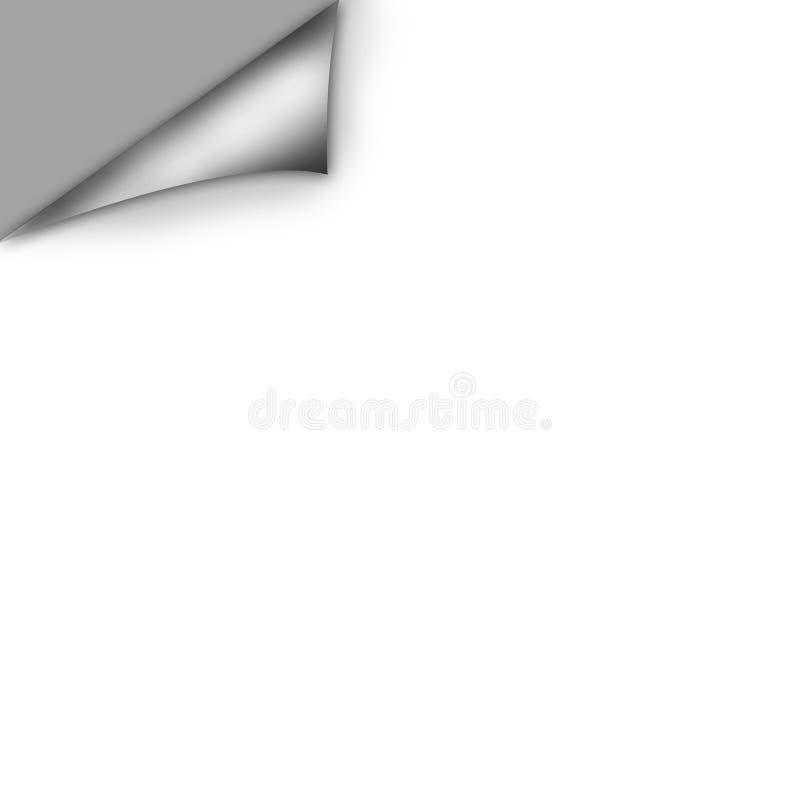Ricciolo di carta illustrazione di stock