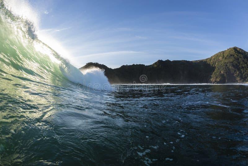 Ricciolo di Wave fotografie stock