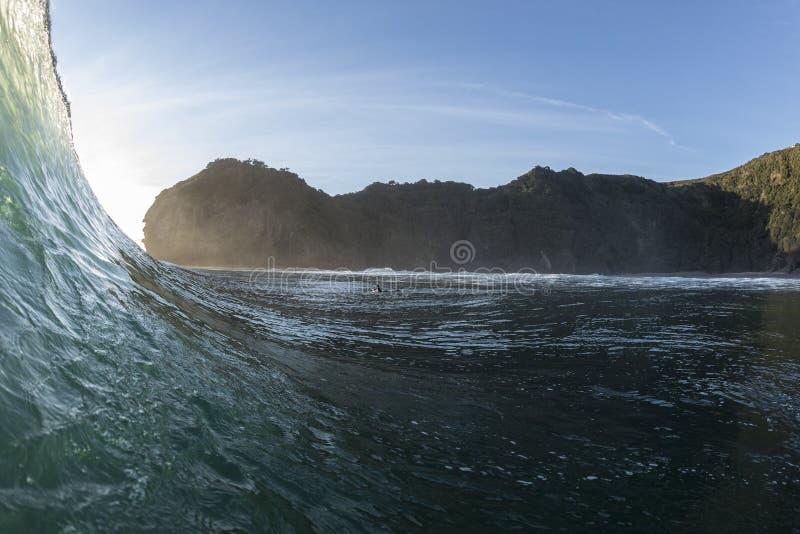 Ricciolo di Wave fotografia stock