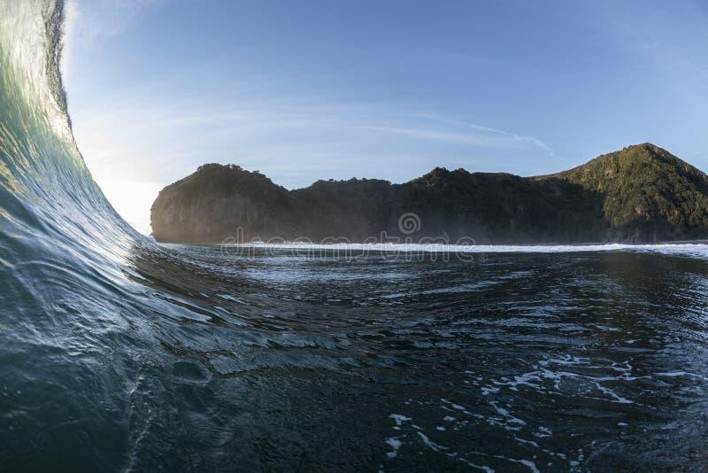 Ricciolo di Wave immagine stock libera da diritti