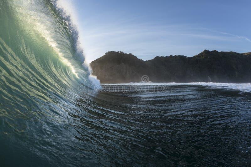 Ricciolo di Wave fotografia stock libera da diritti