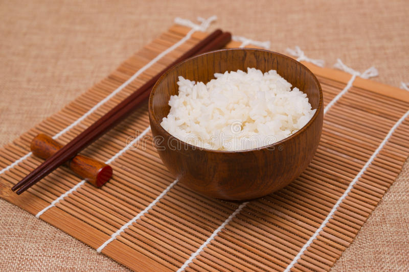 Download Rice stock photo. Image of sack, wood, food, chopsticks - 27839248