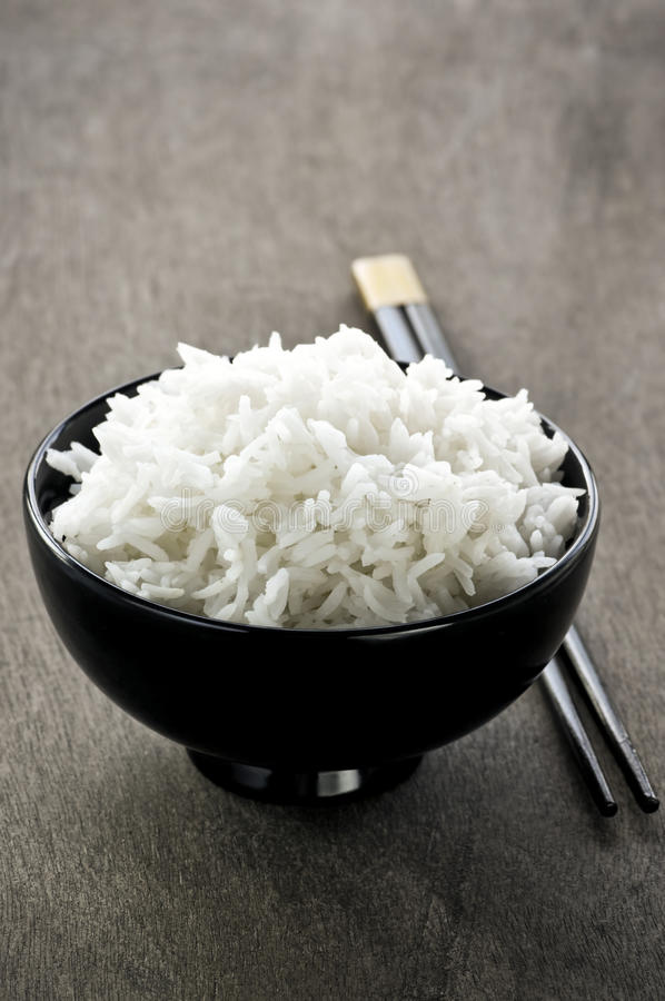 Download Rice bowl and chopsticks stock image. Image of grained - 11459751