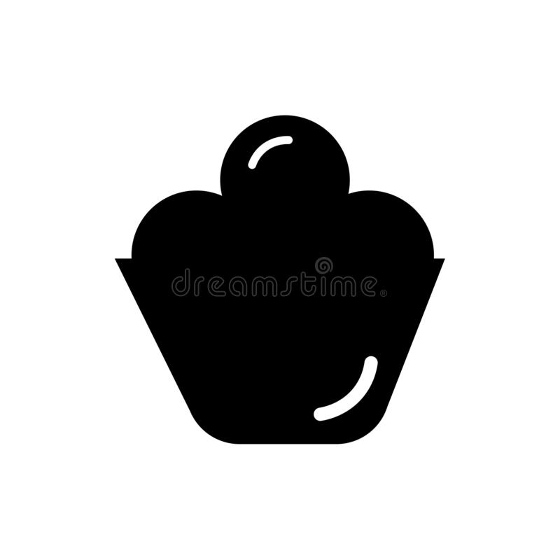 Rice bowl icon vector sign and symbol isolated on white background, Rice bowl logo concept stock illustration