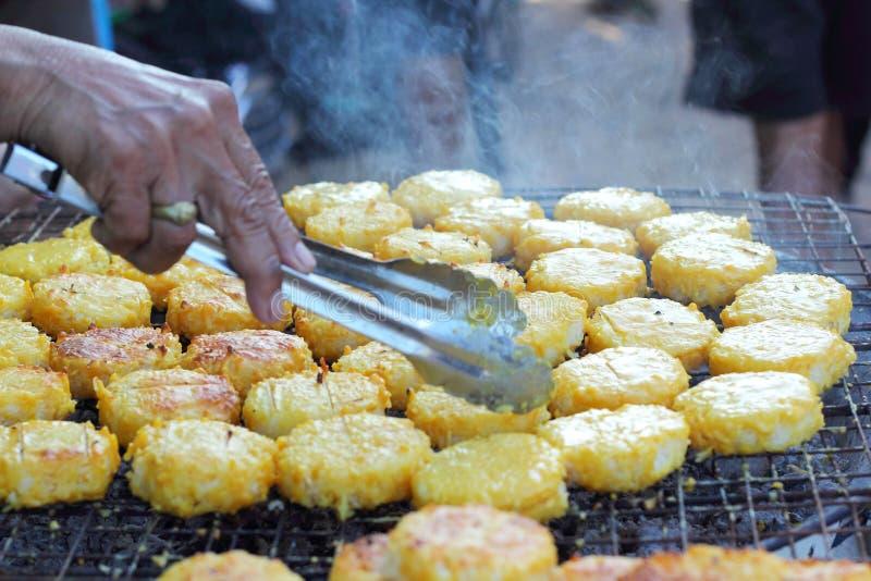 Rice cakes in asia - asia food.  stock photos