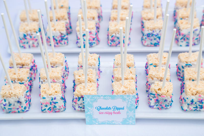 Rice Crispy Treats royalty free stock image