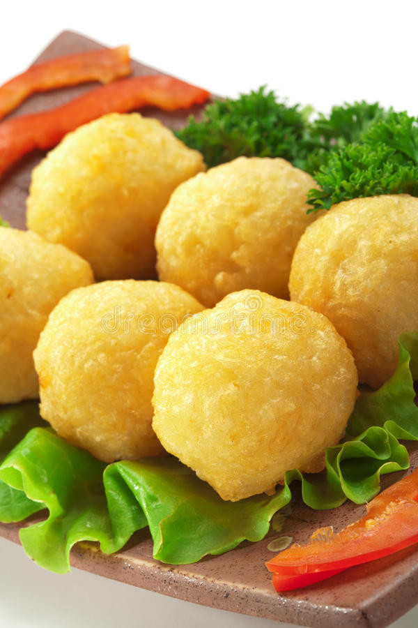 Download Rice Croquette stock image. Image of gourmet, paprika - 12184529