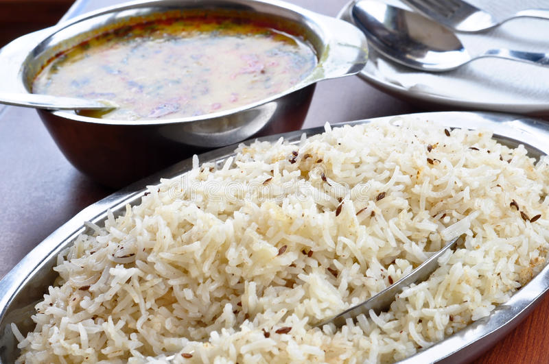 Download Rice and Dal stock photo. Image of daal, seeds, bean - 20263000