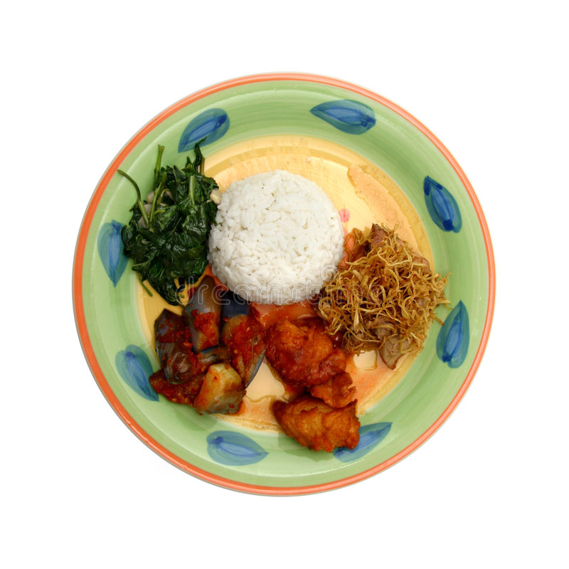 Download Rice dinner stock photo. Image of isolated, glazed, flowery - 472492