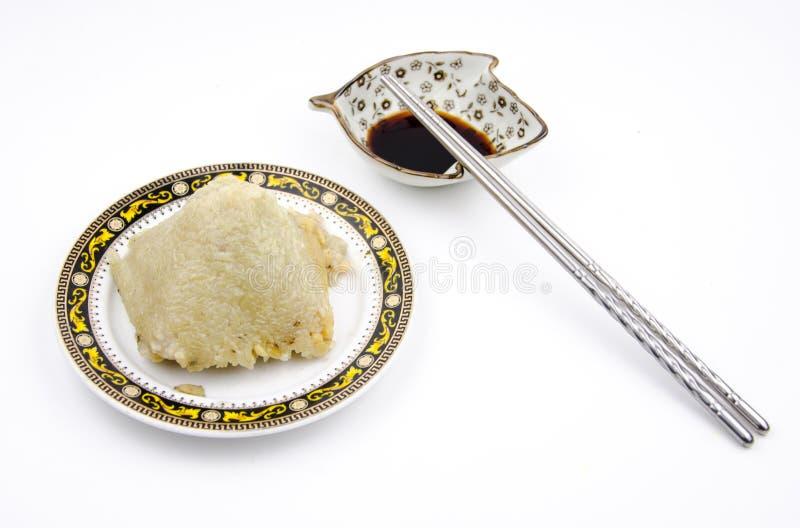 Rice dumplings stock photo