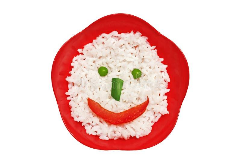 Rice face royalty free stock photos