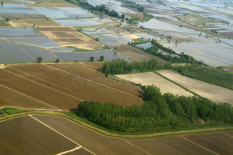 Download Rice Fields As Seen By The Bell Stock Photo - Image: 26116776