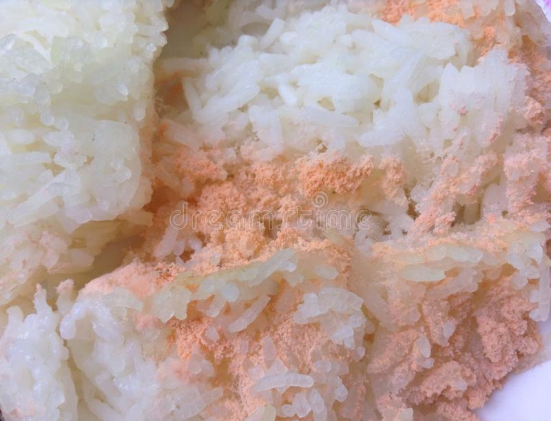 Rice has gone bad royalty free stock photo