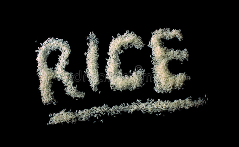 Rice Isolated stock images