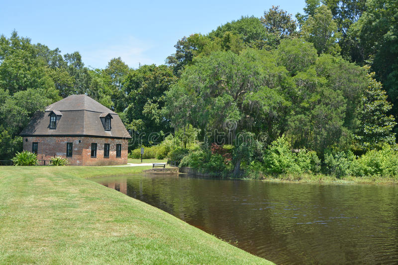 Rice mill at Middleton Place royalty free stock photos