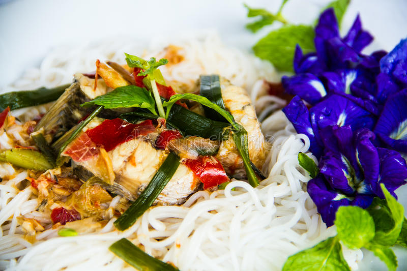 Download Rice noodle stock image. Image of green, delicious, ingredient - 29115991