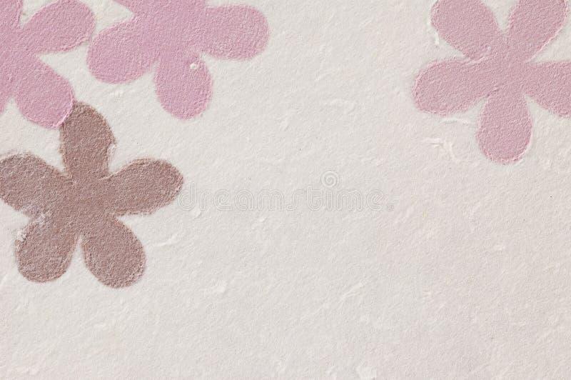 Rice paper flowers stock photos