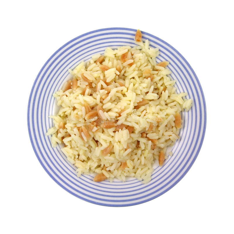Rice Pilaf Stock Photography
