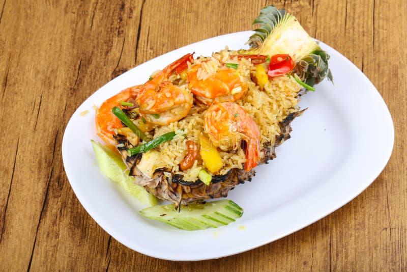 Rice with prawn royalty free stock image