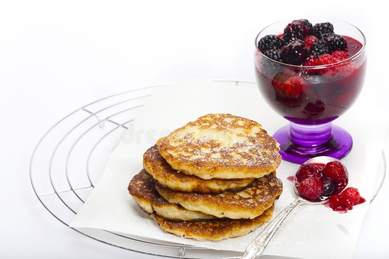 Download Rice pudding pancake stock image. Image of food, fruit - 30471753
