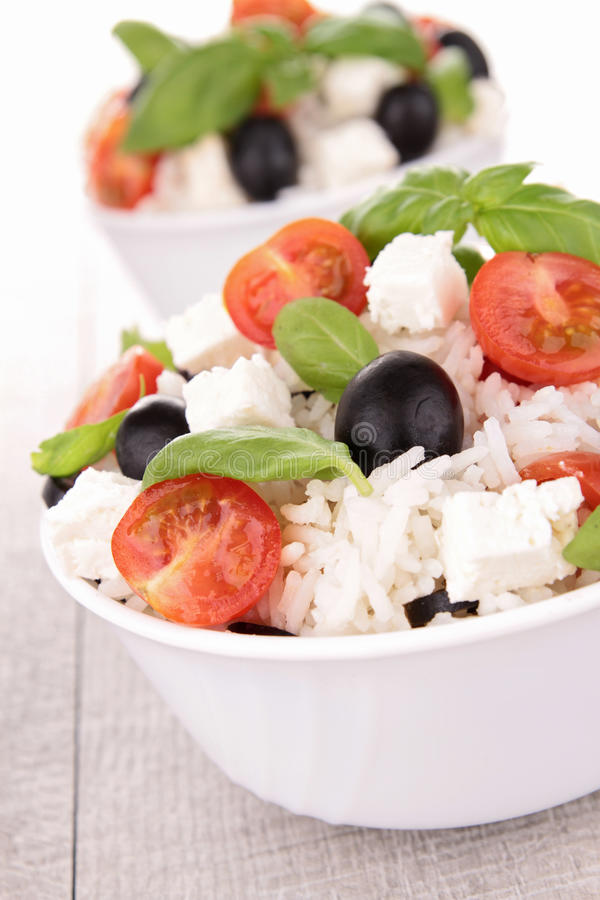 Download Rice salad stock photo. Image of culinary, rice, meal - 25229252