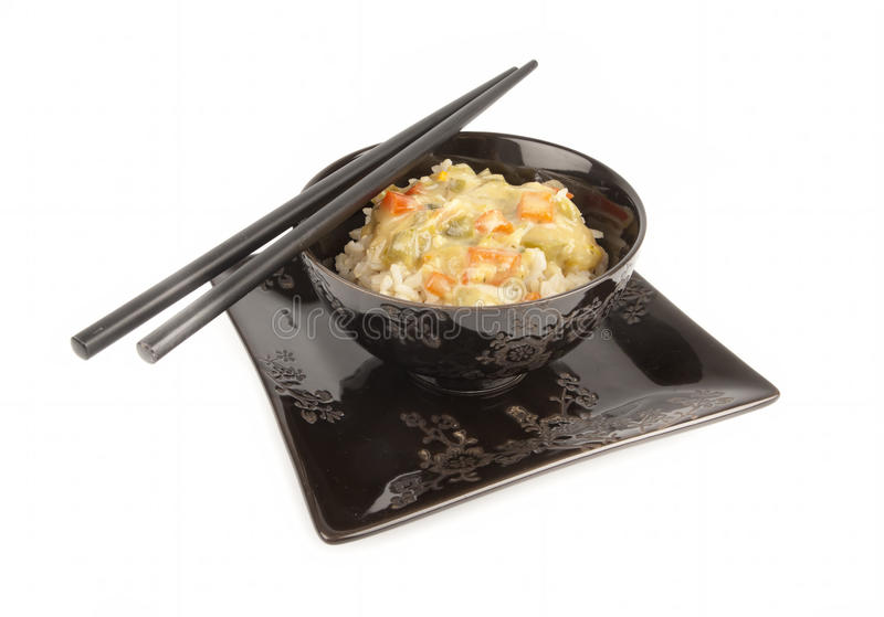 Download Rice With Sauce Royalty Free Stock Photos - Image: 22451838