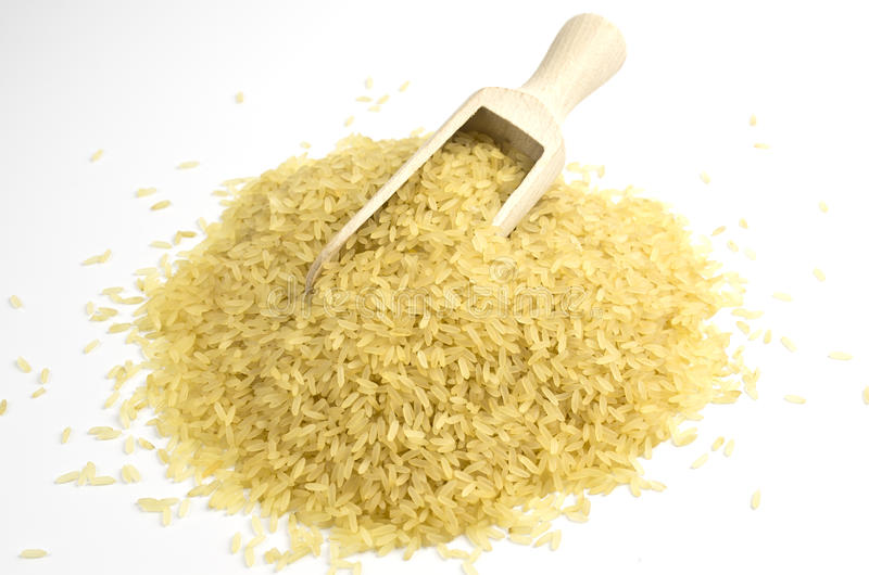 Download Rice and shovel stock photo. Image of food, ripe, staple - 23902358
