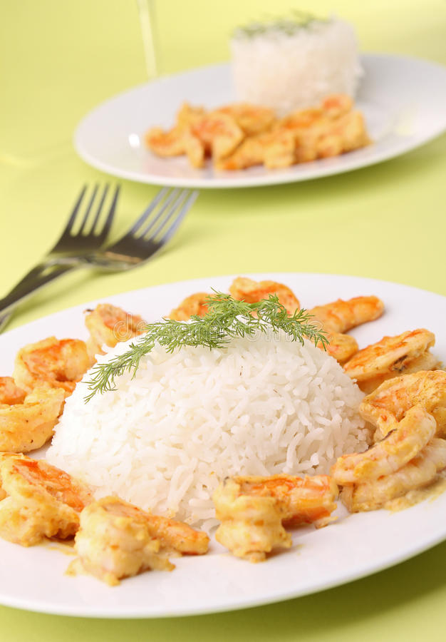 Download Rice And Shrimp Stock Photos - Image: 22006863