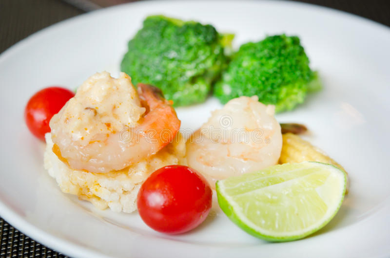 Download Rice stekt thai mat arkivfoto. Bild av grönsak, organiskt - 27275024