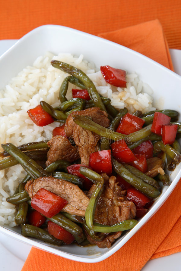 Free Rice With Mixed Vegetables Stock Image - 7936021