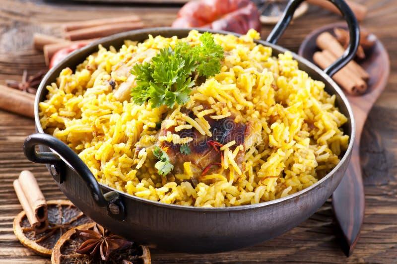 Rice z kurczakiem fotografia royalty free