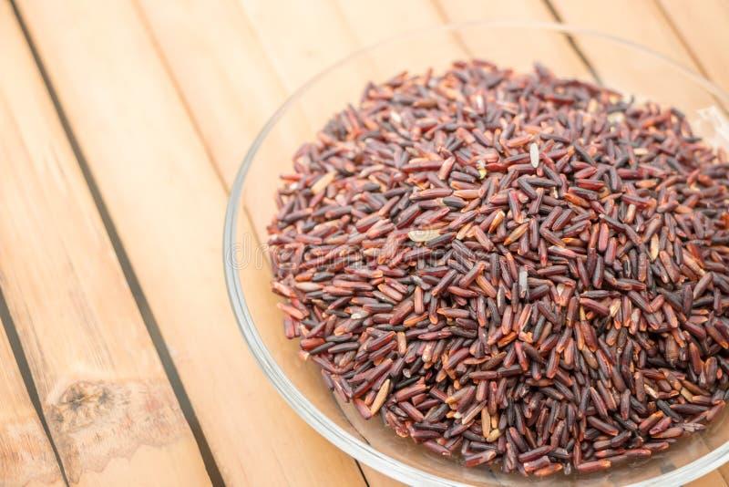 Riceberryrijst stock afbeeldingen