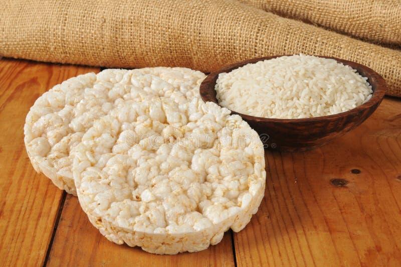 Ricecakes fotografia stock