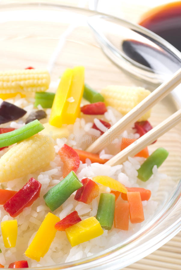 ricegrönsaker arkivfoto