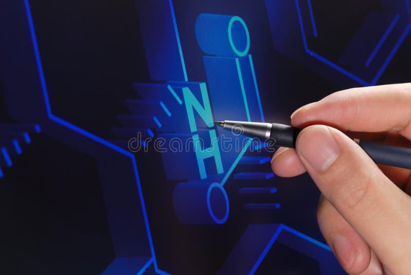 Ricerca di chimica immagini stock libere da diritti