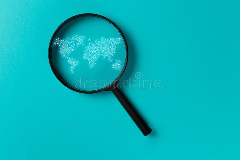 Ricerca di informazioni di concetto fotografia stock libera da diritti