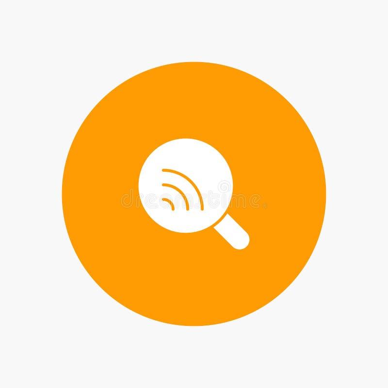 Ricerca, ricerca, Wifi, segnale illustrazione di stock