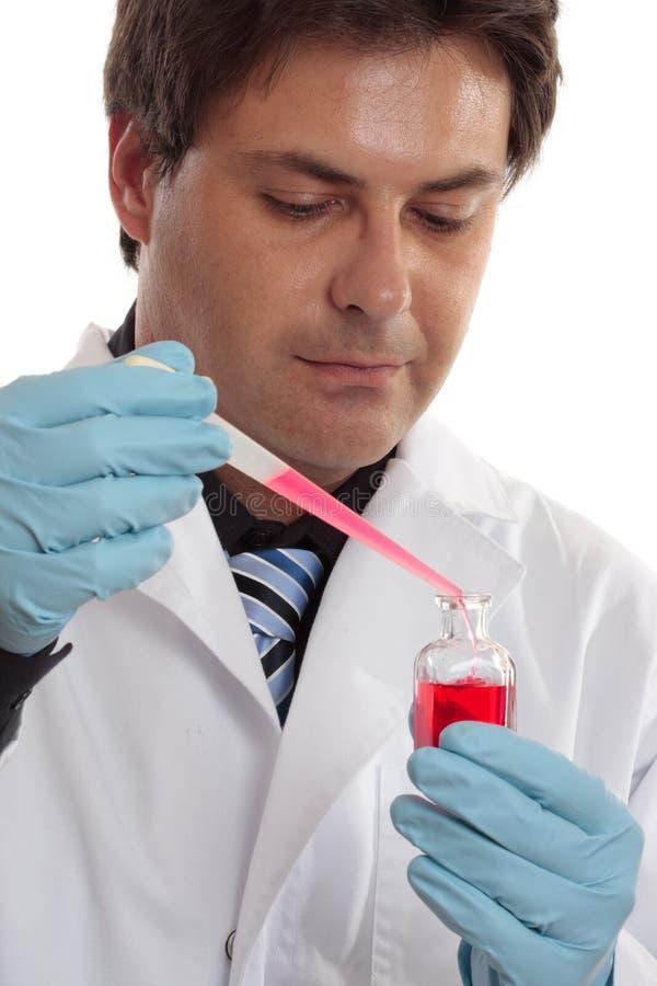 Ricerche scientifiche o cliniche di laboratorio fotografia stock libera da diritti