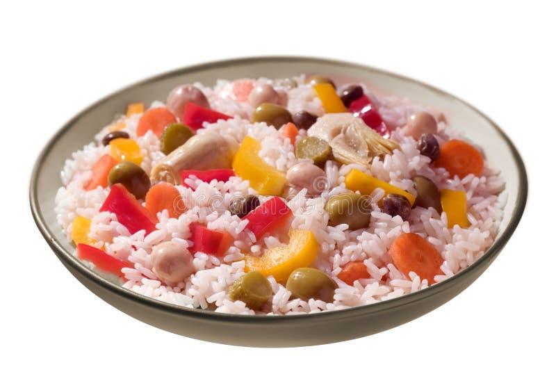 Download Ricesallad arkivfoto. Bild av maträtt, äta, matlagning - 19794860