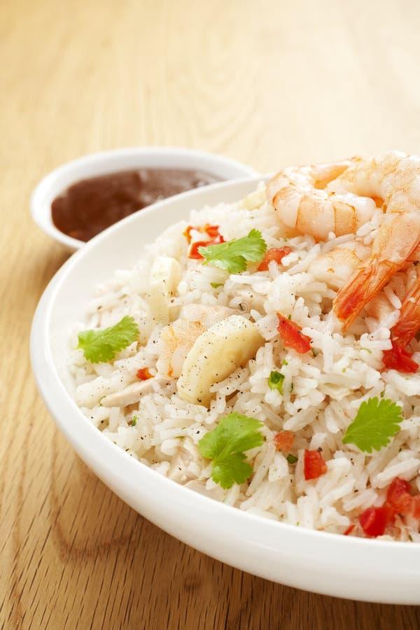 ricesallad arkivfoton