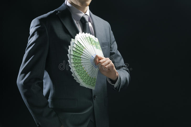 Rich Businessman Royalty Free Stock Photography