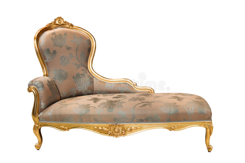 Download Rich couch stock photo. Image of baroque, dust, object - 8951794