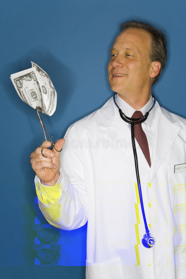 Download Rich Doctor Royalty Free Stock Photography - Image: 5646177