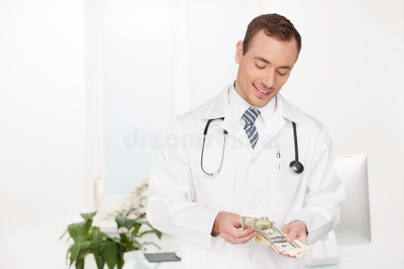 Download Rich doctor. stock image. Image of injection, place, expressing - 33214289