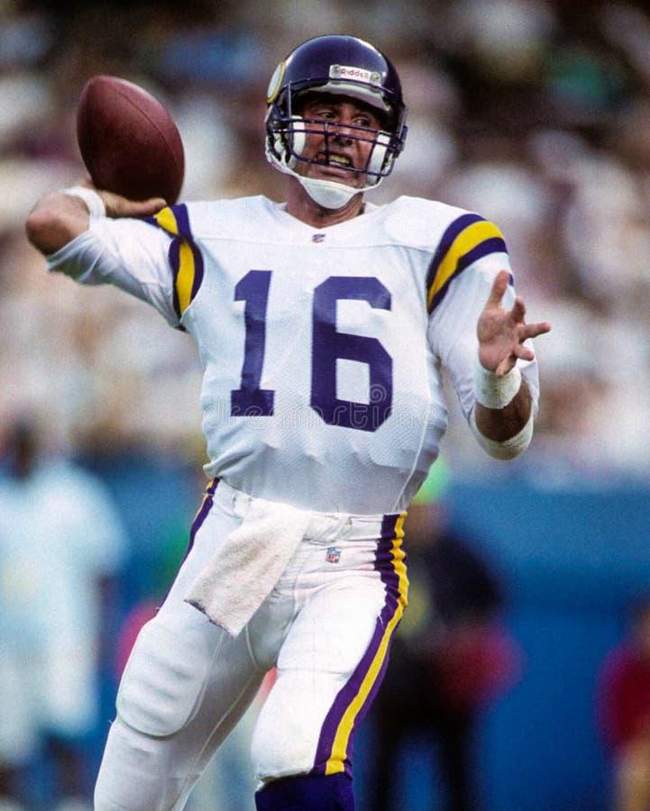 Rich Gannon Minnesota Vikings foto de stock royalty free